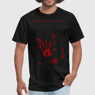Zombie Blood Splatter - Men's T-Shirt