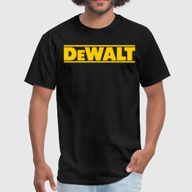 Dewalt DeWalt tools contractor handy man professional con - Men's T-Shirt