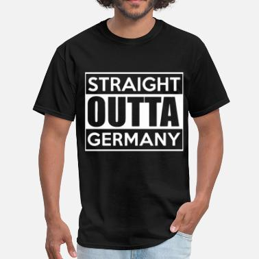 Benz straight outta germnay - Men's T-Shirt