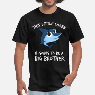 Dobre Brothers This Little Shark Is Going To Be A Big Brother - Men's T-Shirt