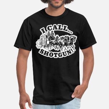Stagecoach I call Shotgun! DarkShirt - Men's T-Shirt
