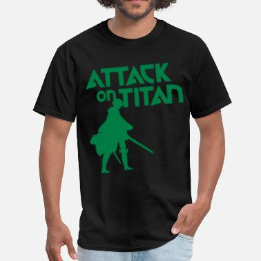 Levi Rivaille Attaclk on Titan Levi - Men's T-Shirt