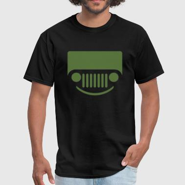Jeep Skull smile jeep - Men's T-Shirt