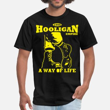 Classic Rock Boots A Way of Life  Hooligan Empire - Men's T-Shirt