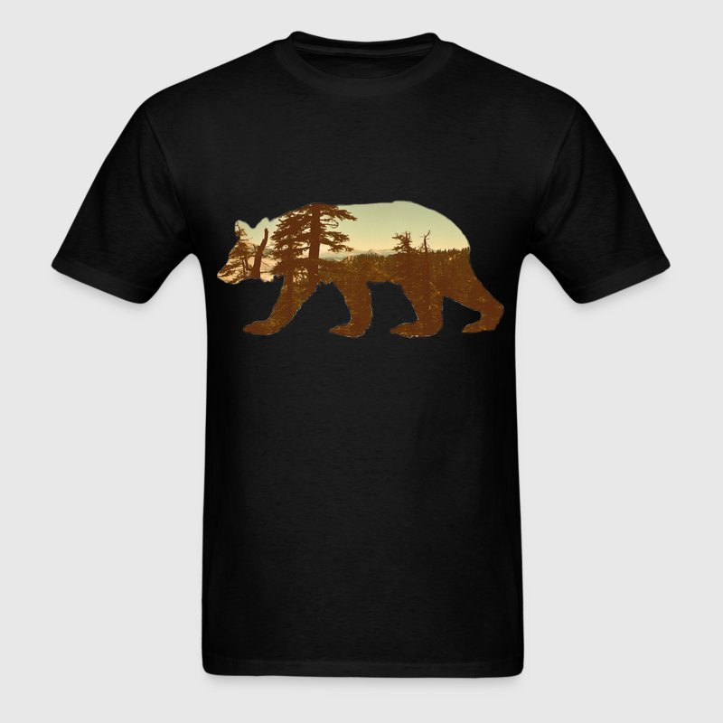 mountain bear tee - Men's T-Shirt