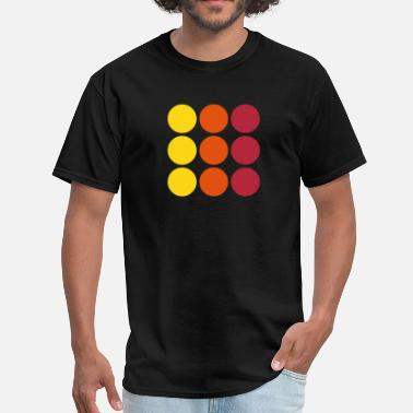 Round dots - Men's T-Shirt