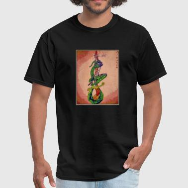 Impaled Snake Men's Tee - Men's T-Shirt