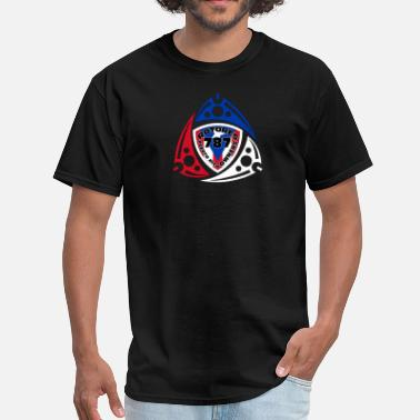 Engine rotary 787 puerto rico - Men's T-Shirt