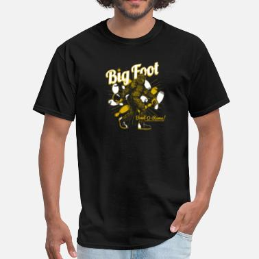 Bigger Balls BIG FOOT BOWL-O-RAMA - Men's T-Shirt