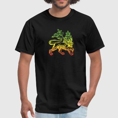 Ethiopian Lion of Judah - Men's T-Shirt