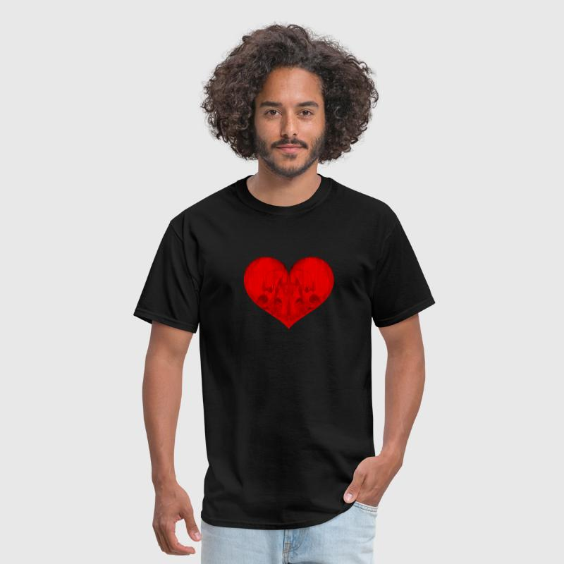 Love is Suicide Womens T-Shirt - Men's T-Shirt