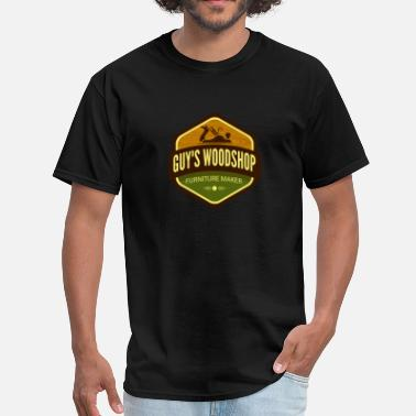 Woodshop Guy's Woodshop - Men's T-Shirt