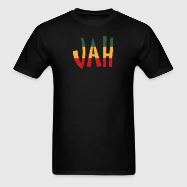 reggae jah - Men's T-Shirt