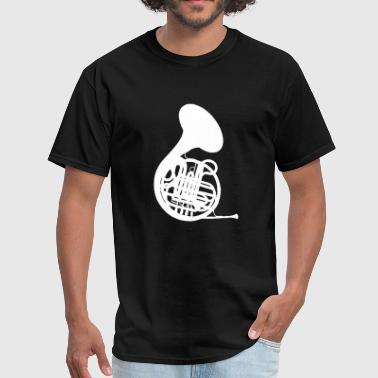 French Horn - Men's T-Shirt