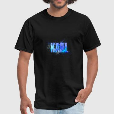 Karl Male Name Word - Men's T-Shirt