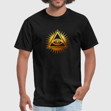 The All Seeing Eye / The Eye Of Providence - Men's T-Shirt
