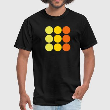 Nostalgic dots - Men's T-Shirt