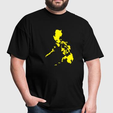 philmap_yellow - Men's T-Shirt