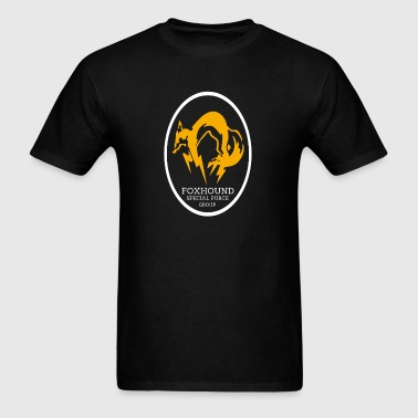 METAL GEAR SOLID - FOXHOUND SPECIAL FORCE GROUP - Men's T-Shirt