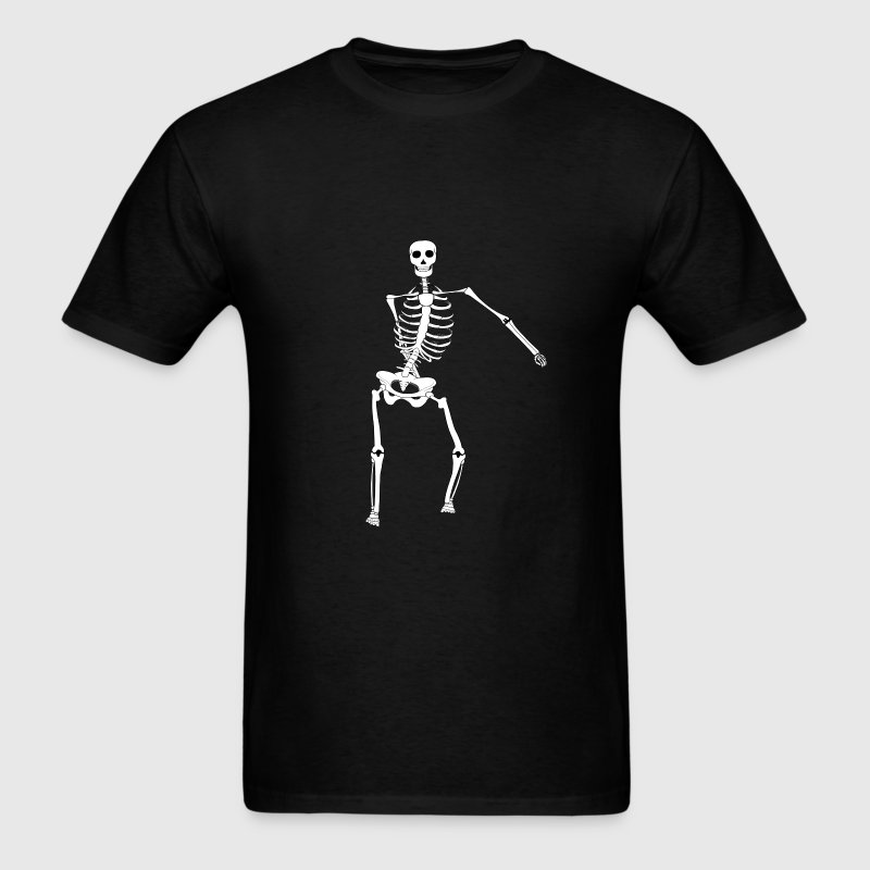 Swish Swish Dance Skeleton - Men's T-Shirt