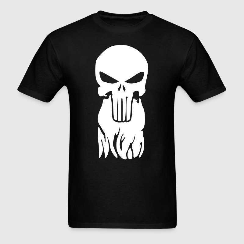 Punisher Beard - Men's T-Shirt