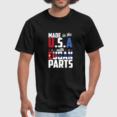 Mechanic Diesel Truck Parts - made in the u.s.a with cuban parts - Men's T-Shirt