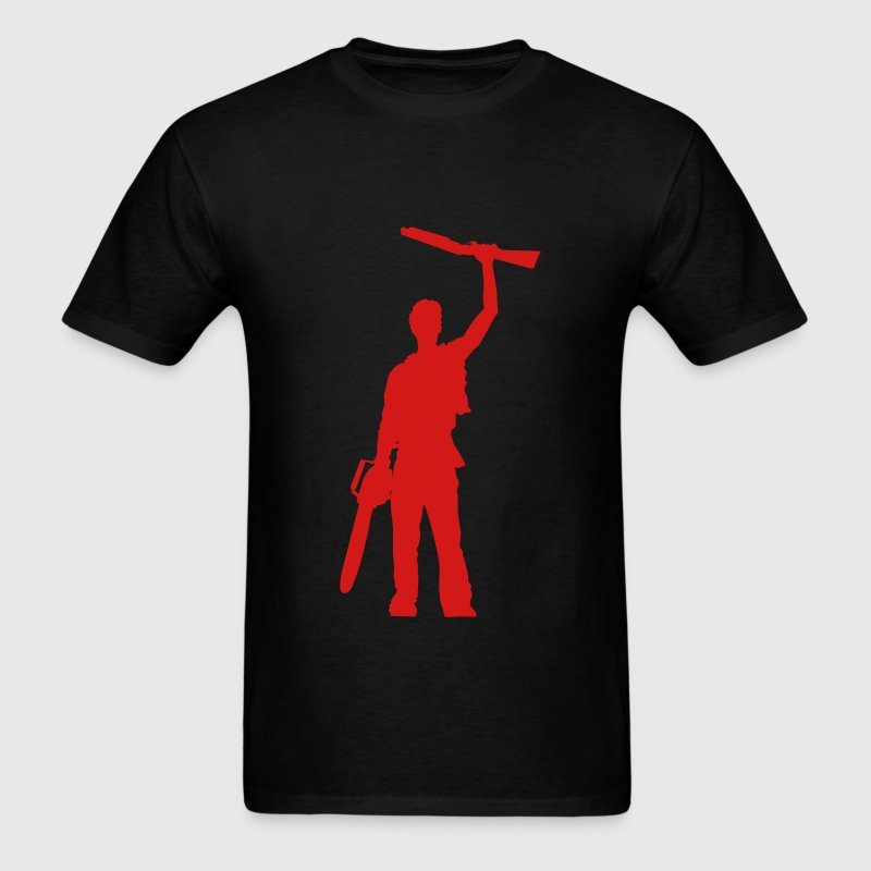 Shotgun silhouette - Men's T-Shirt