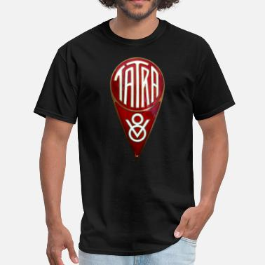 Tatra Tatra V8 badge emblem - Men's T-Shirt