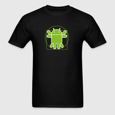 Android vitruvian man - Men's T-Shirt