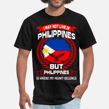 I Love The Philippines Philippines Is Where My Heart Belongs Country Tees - Men's T-Shirt