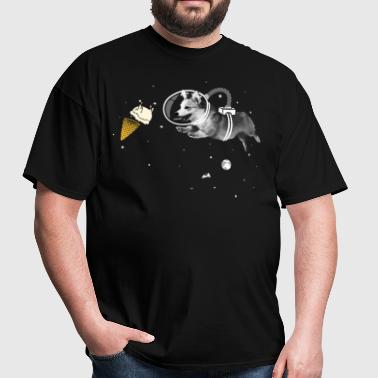 Corgi naut - Men's T-Shirt