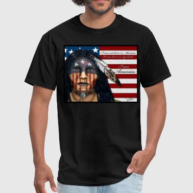 I AM AMERICA - Men's T-Shirt