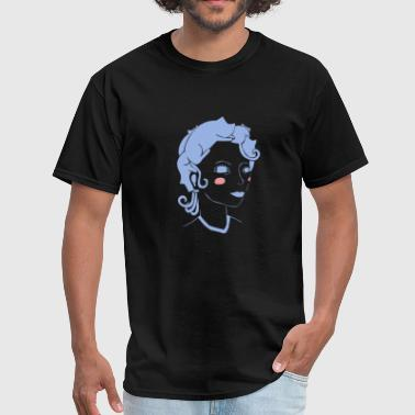 Cat Hair Girl - Men's T-Shirt