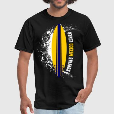 Surfing Mexico Lover - Men's T-Shirt