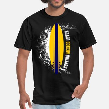 Mexico Lover Surfing Mexico Lover - Men's T-Shirt