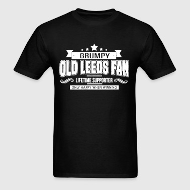 Grumpy Old Leeds Fan - Men's T-Shirt