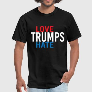 Love Trumps Hate LOVE TRUMPS HATE - Men's T-Shirt