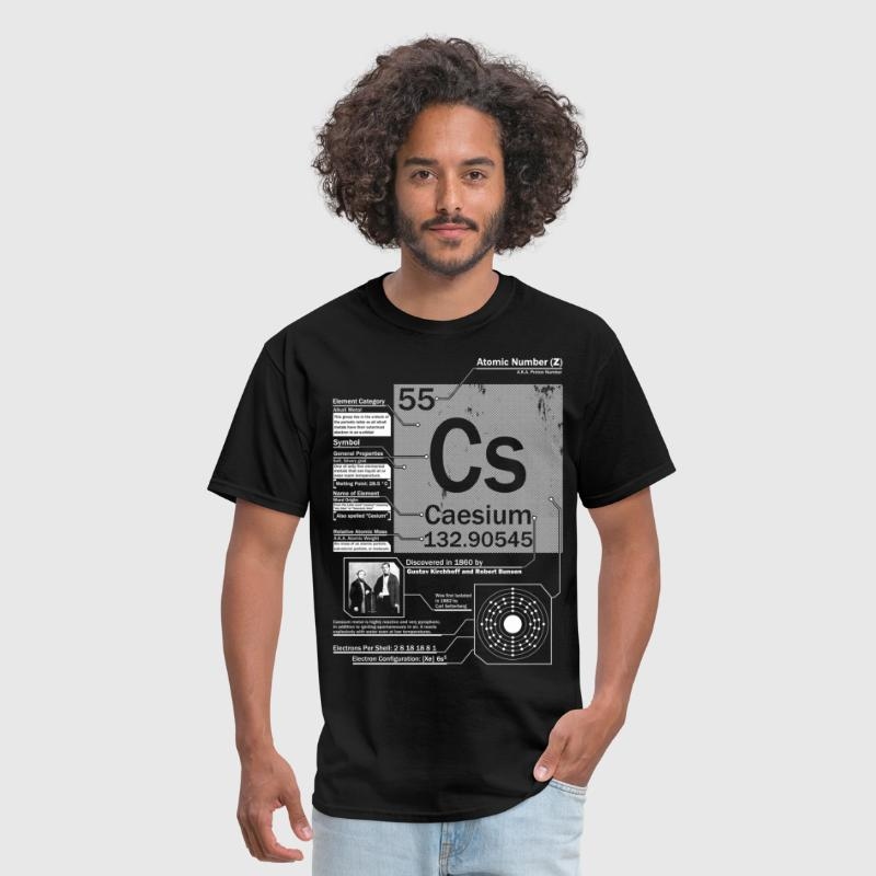 Caesium element t shirt by smart apparel spreadshirt caesium element t shirt mens t shirt urtaz Gallery