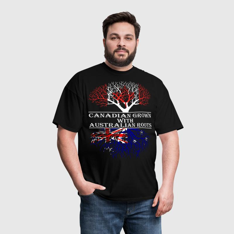 Canadian Grown With Australian Roots - Men's T-Shirt
