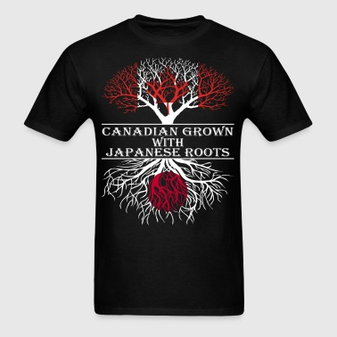 Canadian Grown With Japanese Roots - Men's T-Shirt