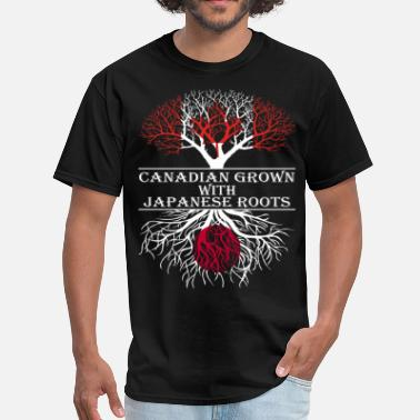 Japanese Roots Canadian Grown With Japanese Roots - Men's T-Shirt
