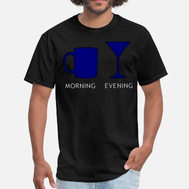 Evening morning & evening - Men's T-Shirt