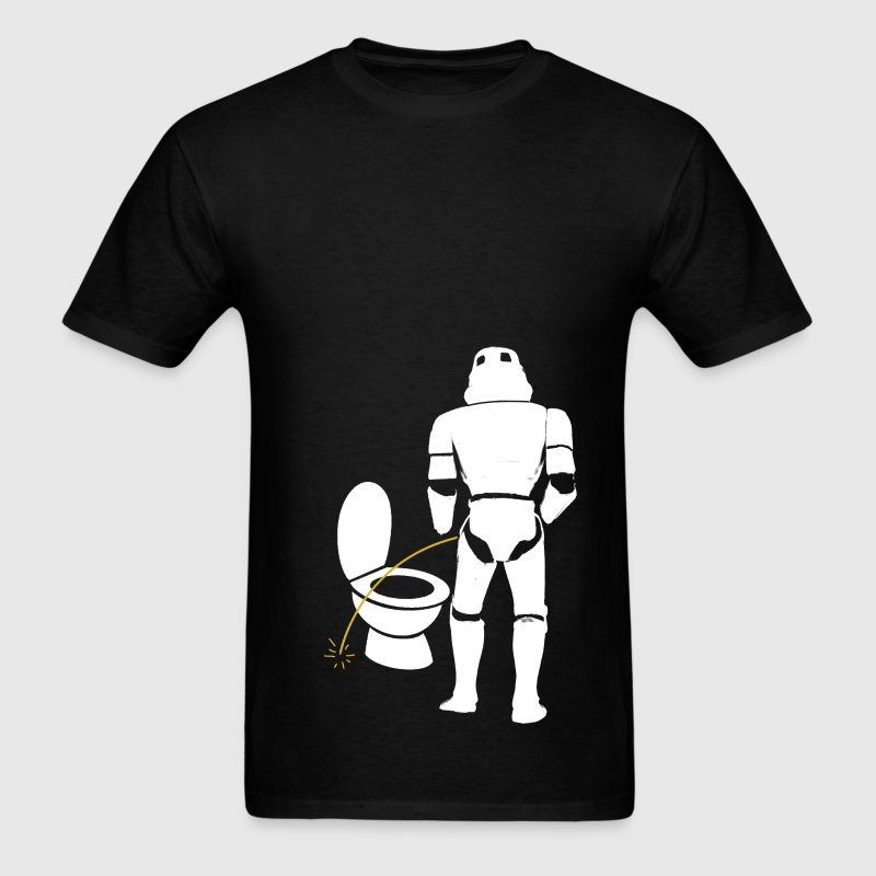 Stormtrooper Bad Aim - Men's T-Shirt