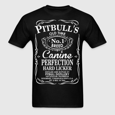 Pitbulls Dog Old Time No1 Breed Canine Perfection - Men's T-Shirt