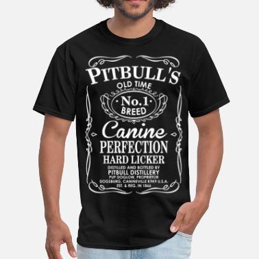 3199add97 Pitbull Pitbulls Dog Old Time No1 Breed Canine Perfection - Men's T.  Men's T-Shirt
