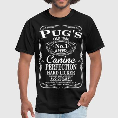 Canine Pug Pugs Dog Old Time No1 Breed Canine Perfection - Men's T-Shirt