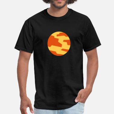Planet Mars Mens Mars Planet - Men's T-Shirt