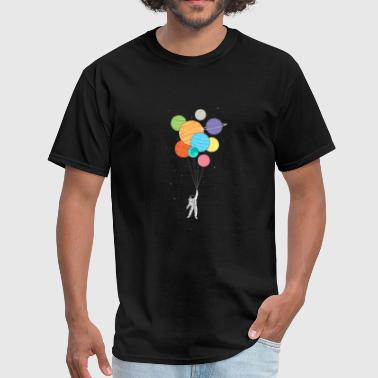 BALLOONS SPACE - Men's T-Shirt