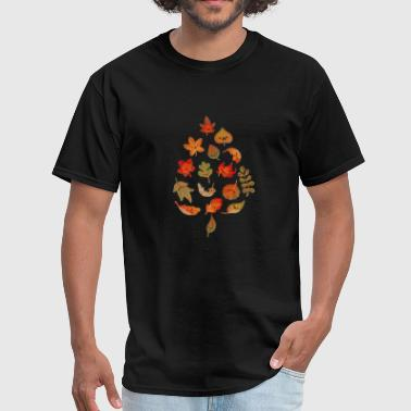 Sad Plant Sad fallen leaves - Men's T-Shirt