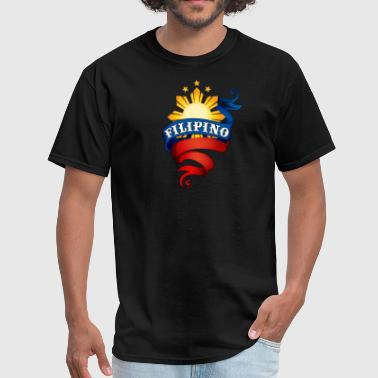 Filipino Logo - Men's T-Shirt